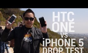 Törésteszt: HTC One vs. iPhone 5
